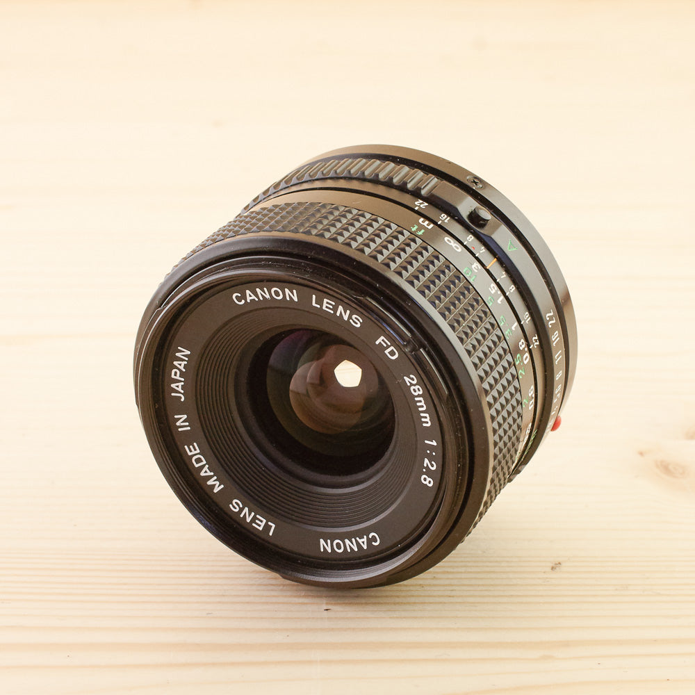 Canon FD 28mm f/2.8 Exc - West Yorkshire Cameras