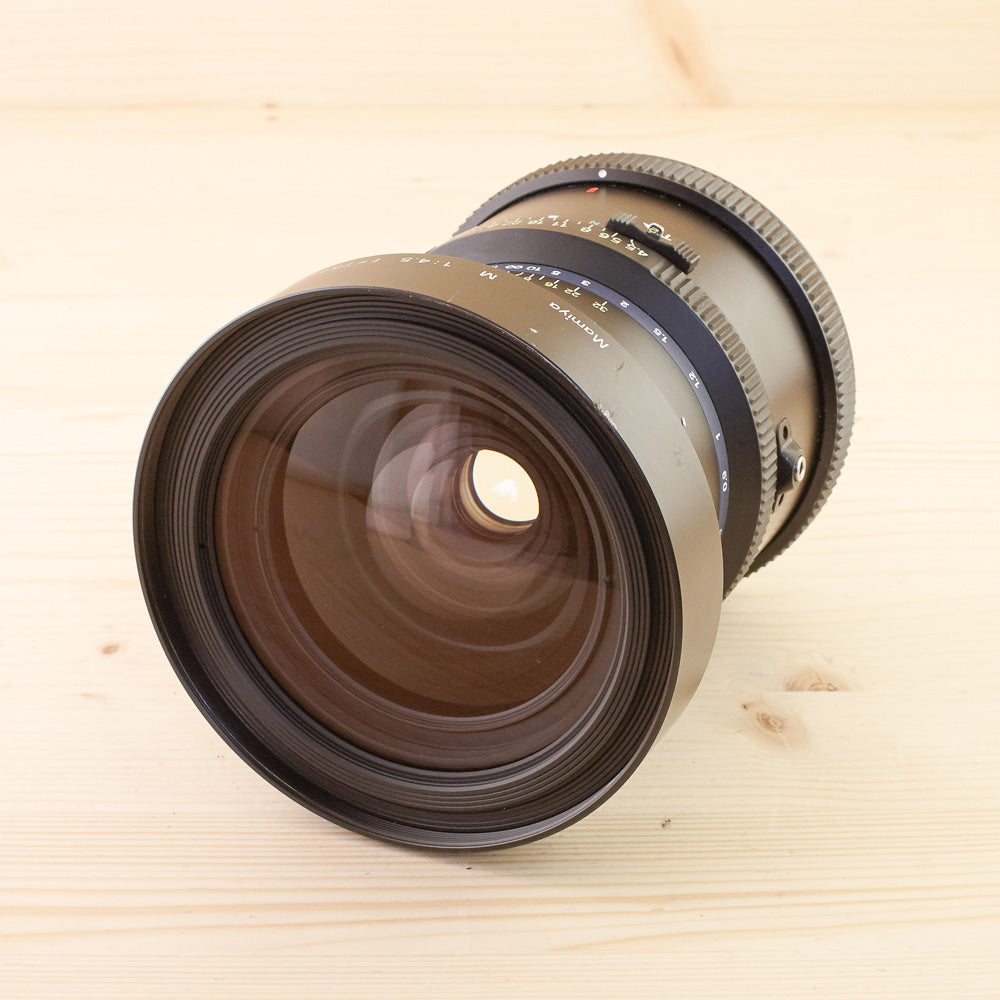 Mamiya RZ67 75mm f/4.5 L SB w/ Spacer Exc+ Boxed - West Yorkshire Cameras