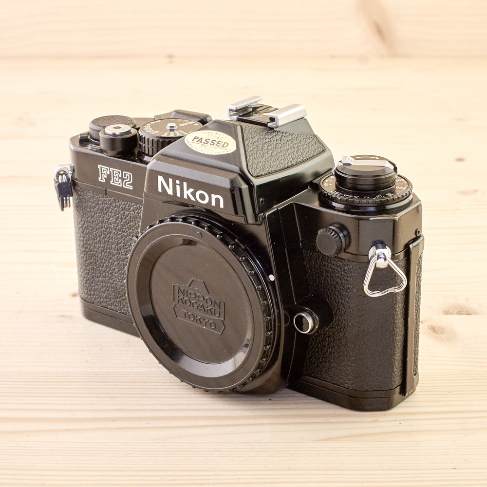 Nikon FE2 Black Body Exc - West Yorkshire Cameras