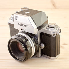 Nikon F Photomic w/ 50mm f/2 Exc - West Yorkshire Cameras