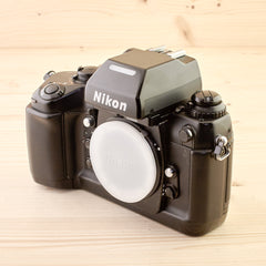 Nikon F4 Body Exc+ Boxed - West Yorkshire Cameras