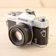 Konica Autoreflex T w/ 50mm f/1.8 User - West Yorkshire Cameras