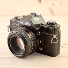 Minolta XG9 w/ 50mm f/1.7 Exc - West Yorkshire Cameras