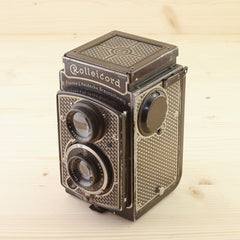 Rolleicord Art Deco Avg - West Yorkshire Cameras