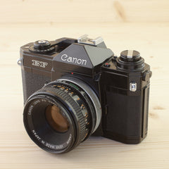 Canon EF w/ 50mm f/1.8 Exc