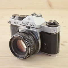 Pentax KX w/ 55mm f/1.8 Exc - West Yorkshire Cameras
