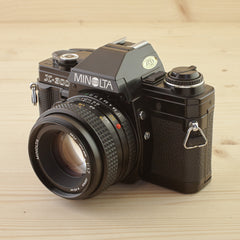 Minolta X-300 w/ 50mm f/1.7 Black Exc - West Yorkshire Cameras