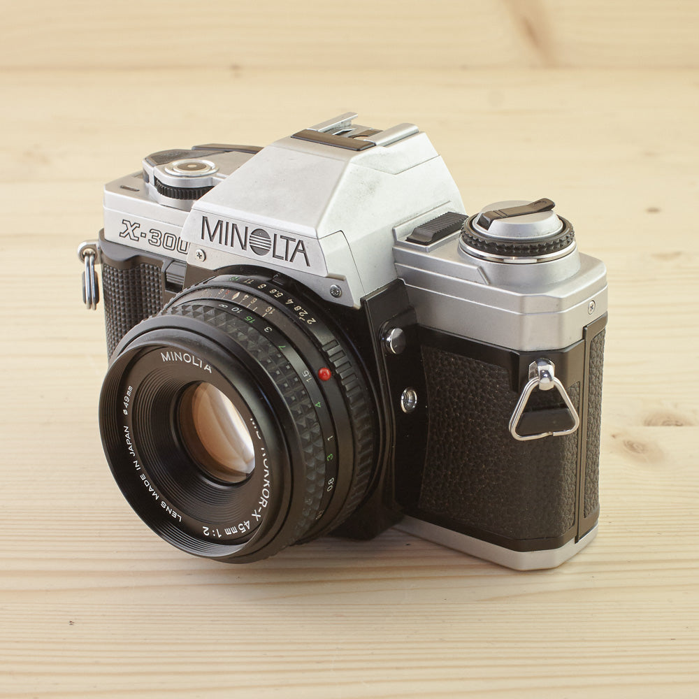 Minolta X-300 Chrome w/ 45mm f/2 Exc - West Yorkshire Cameras