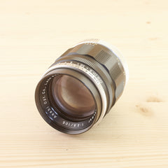 Pentax M42 105mm f/2.8 Preset in case Exc - West Yorkshire Cameras