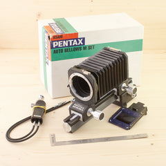Pentax Auto Bellows M Set Exc Boxed - West Yorkshire Cameras