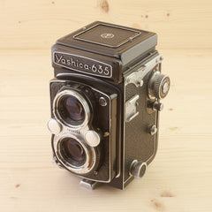 Yashica 635 TLR w/ 35mm Kit Exc - West Yorkshire Cameras