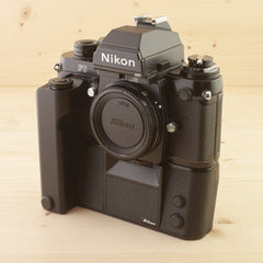 Nikon F3P w/ MD-4 Exc Boxed - West Yorkshire Cameras