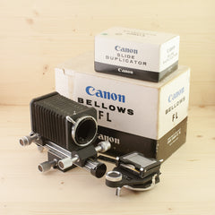 Canon Bellows FL w/ Slide Duplicator Exc Boxed - West Yorkshire Cameras
