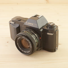 Canon T50 w/ 50mm f/1.8 Exc - West Yorkshire Cameras