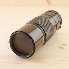 Canon FD 200mm f/4 Macro Avg