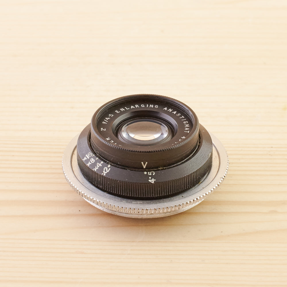 Dallmeyer 2 Inch f/4.5 Enlarging Anastigmat Exc
