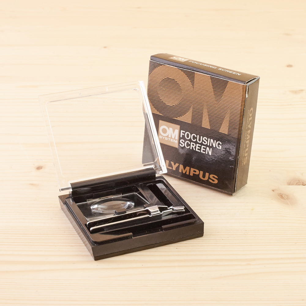 Olympus OM Focusing Screen 1-9 Boxed Exc