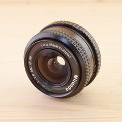 M42 fit Miranda 28mm f/2.8 Exc