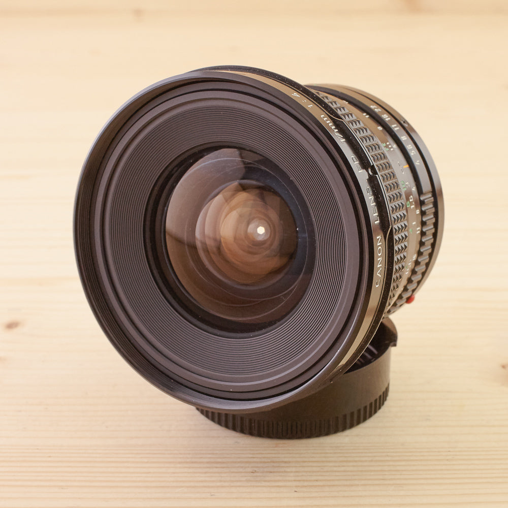 Canon FD 17mm f/4 Exc