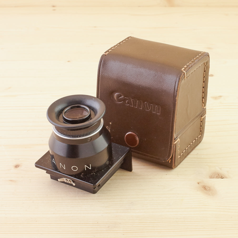 Canon Canonflex Chimney Finder Exc+ in Case
