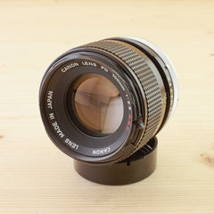 Canon FD 100mm f/2.8 SSC Exc+