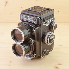 Tele-Rolleiflex Exc+ in Case