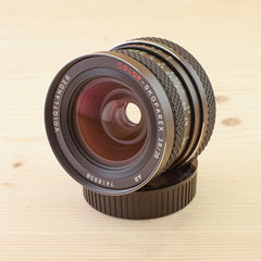 Rollei QBM fit Voigtlander 28mm f/2.8 Color-Skoparex Exc