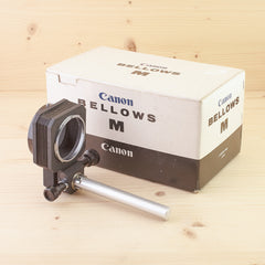 Canon FD Bellows M Exc+ Boxed