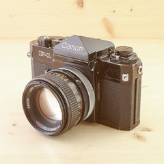 Canon F-1 w/ 50mm f/1.4 S.S.C Exc