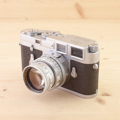 Leica M3 SS w/ 50mm f/2 Summicron Exc in Case