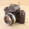 Nikon F2 Photomic Black w/ 50mm f/1.4 Exc+
