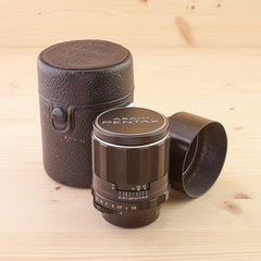 Pentax M42 105mm f/2.8 Exc in case