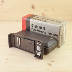 Canon Data Memory Back 90 Exc+ Boxed