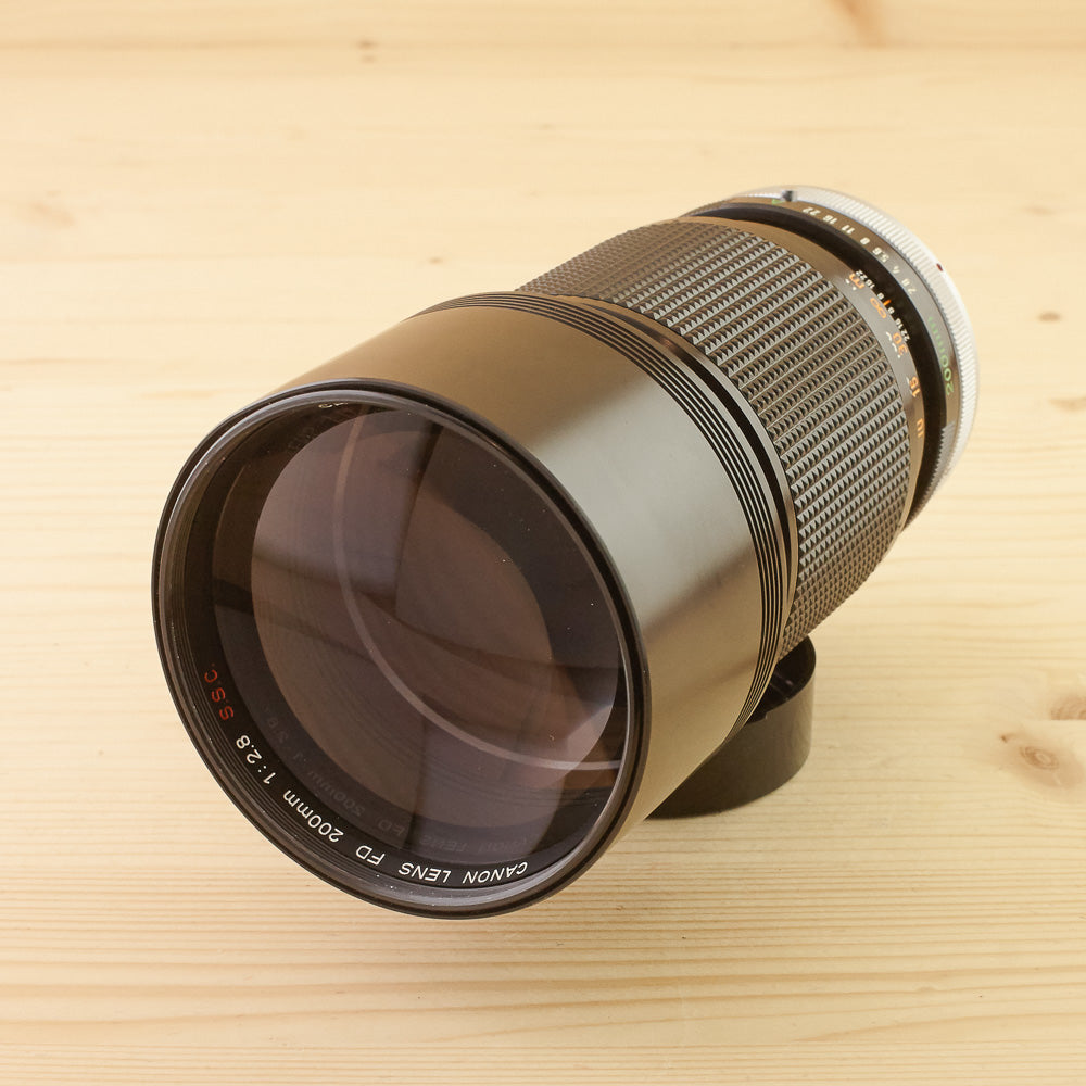 Canon FD 200mm f/2.8 S.S.C Exc