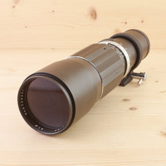 M42 fit Soligor 400mm f/6.3 Exc