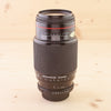 Pentax AF fit Zeiss 75-300mm f/4.5-5.6 Jenazoom Exc