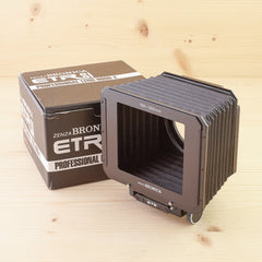Bronica ETR Bellows Hood Exc+ Boxed