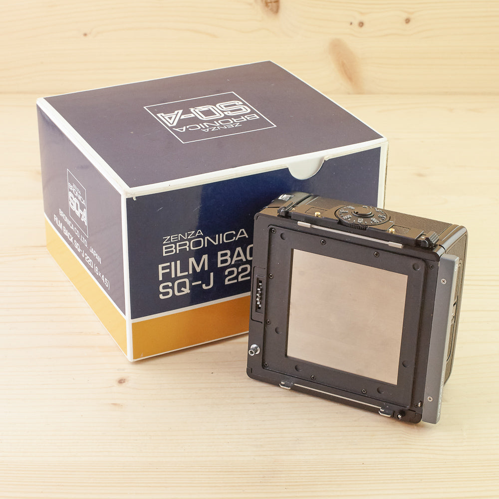 Bronica SQ 220 J Back Exc Boxed
