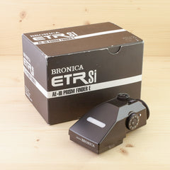 Bronica ETR AE-III Prism Finder E Exc Boxed