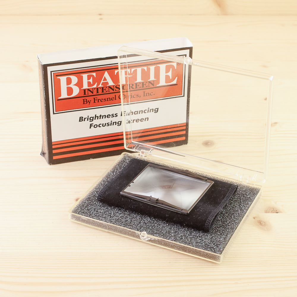 Bronica ETR Beattie Interscreen Plain Exc+ Boxed