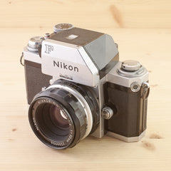 Nikon F Photomic w/ 50mm f/2 Avg