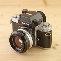 Nikon F2AS Chrome w/ 50mm f/1.4 Exc