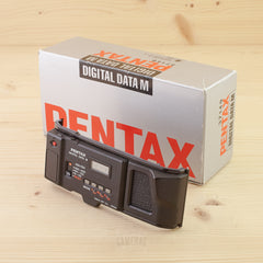 Pentax Digital Data Back M Exc Boxed