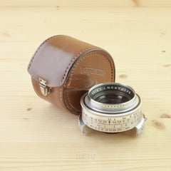 Voigtlander Prominent Fit Skoparon 35mm f/3.5 in Case Exc