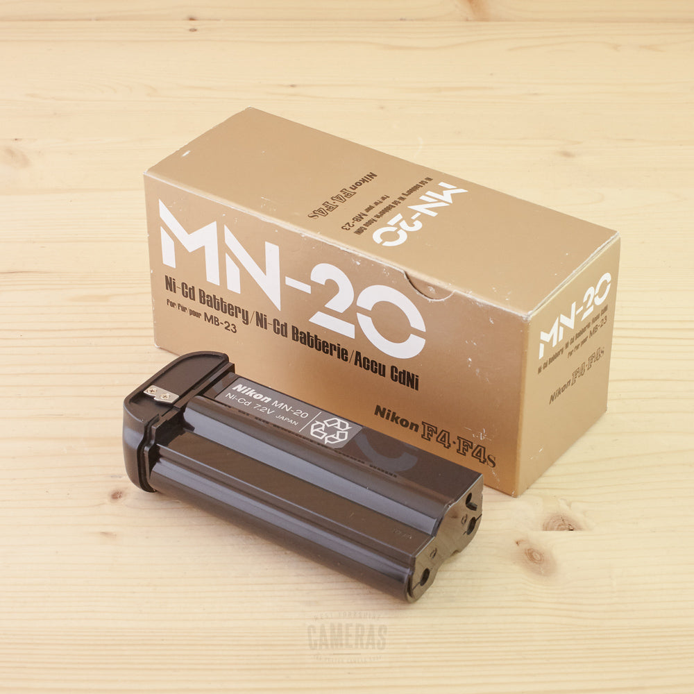 Nikon MN-20 NiCad Battery Exc+ Boxed