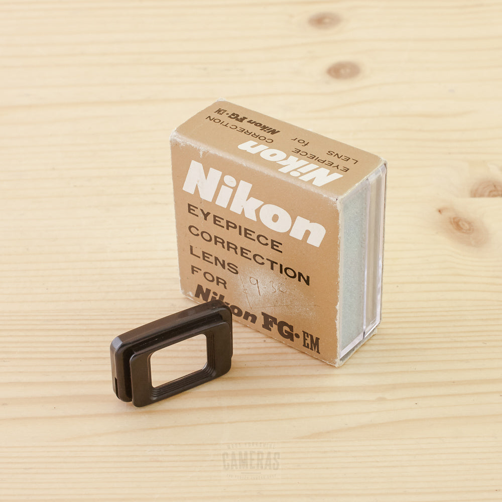 Nikon -4.0 Eyepiece Correction Attachment for Nikon FG/ EM Exc+ Boxed
