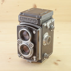 Rolleiflex Automat K4A in Case Avg