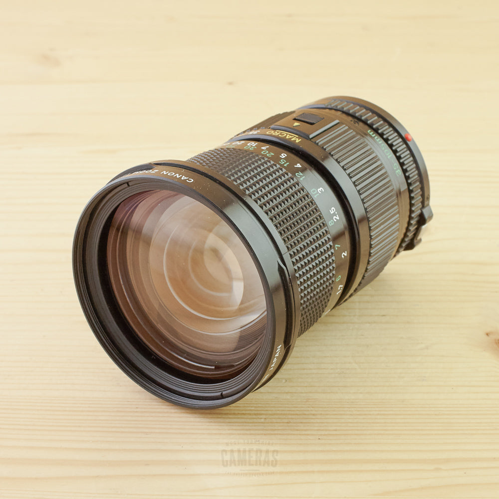 Canon FD 35-105mm f/3.5 Exc