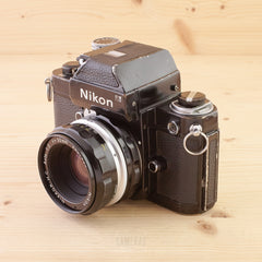 Nikon F2 Photomic Black w/ 50mm f/2 Ugly