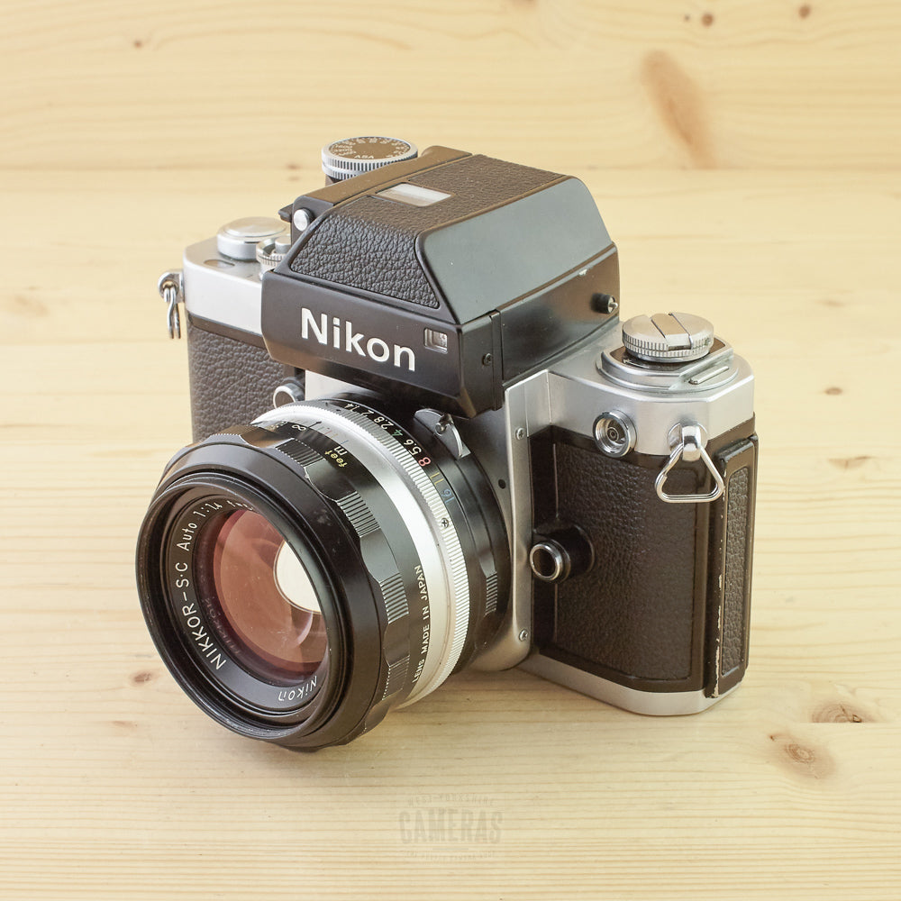 Nikon F2 Photomic Chrome w/ 50mm f/1.4 Exc
